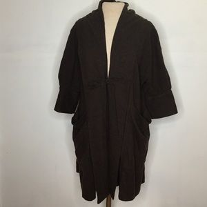 Marc by Marc Jacobs Long open cardigan/cape sz M/L